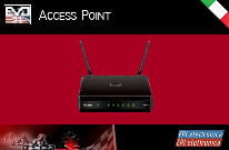 It creates a dedicate radio network Wi-Fi for EVO 21 system for the management of a kart track.