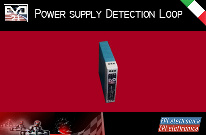 Power supply 12Vdc 30W for Detection loop for the management of a kart track.