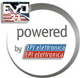 EVO 21 system for telemetry and speed control of the kart is powered by EPI elettronica