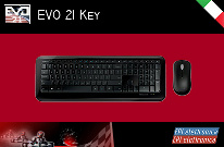 Professional wireless keyboard, for EVO 21 application, for the management of a kart track.